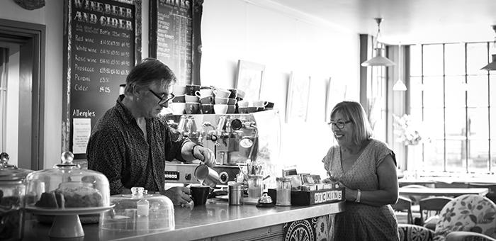 Cafe in Langport Somerset